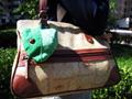 绿色小袋子