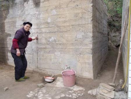 黔西县新仁苗族乡修建小水窖