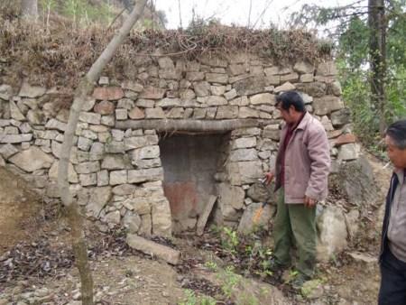 如此干旱小水窖也能流出清泉