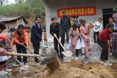 广西西林县思源水窖开工