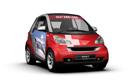 瑞士风情装点车身 接车服务推广环保