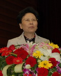 中国妇基会理事长黄晴宜