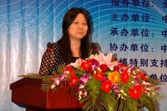 中民慈善捐助信息中心主任彭建梅