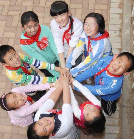 云南贫困山区儿童