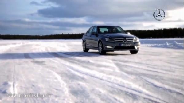 奔驰瑞典冰雪试驾活动