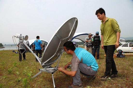 通讯组搭建卫星通讯系统