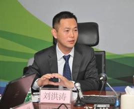 网宿科技副总裁刘洪涛会上致辞