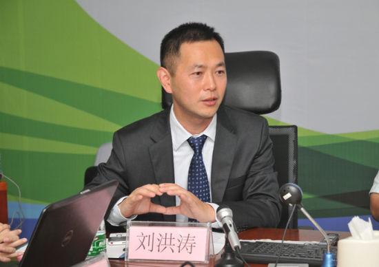 网宿副总裁刘洪涛签约仪式上致辞