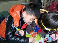 孩子们制作安全小贴士