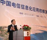 中国电信信息化应用规模发展论坛现场