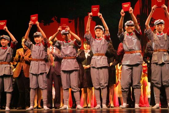 2007年与芭蕾共舞汇报演出