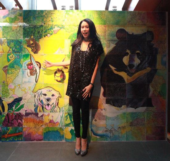莫文蔚出席亚洲动物基金15周年庆典活动