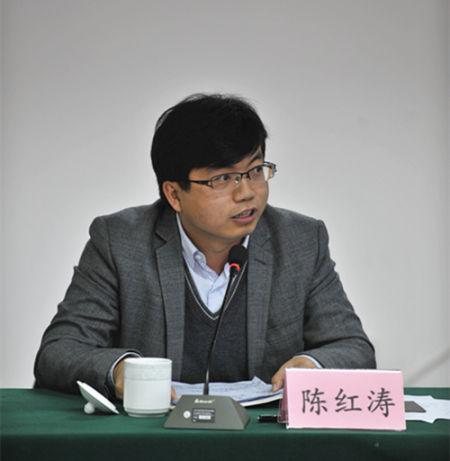 中国扶贫基金会副秘书长陈红涛