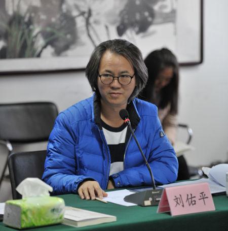 中民慈善捐助中心副主任刘佑平