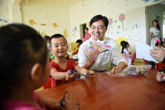 """作为""""山村幼儿园计划""""的一个重要试点"""
