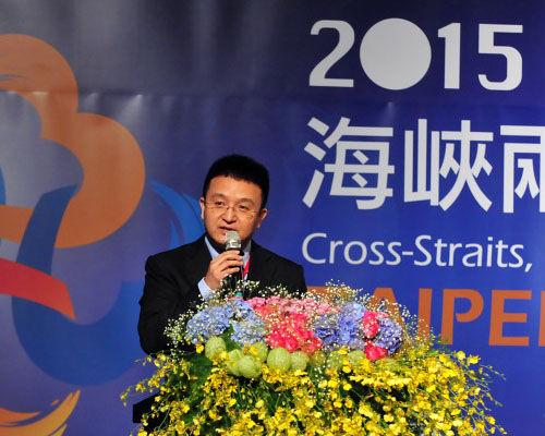 中国慈善联合会理事兼副秘书长孟志强为论坛致辞