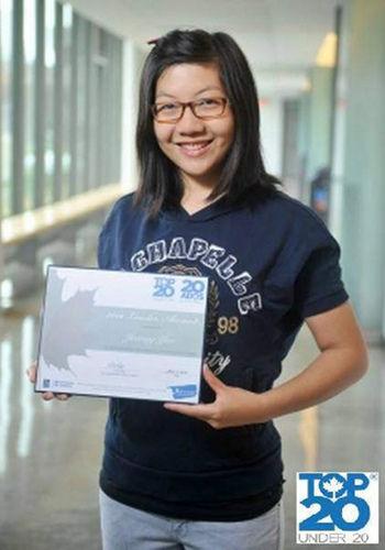 20岁华裔女大学生获邀为盖茨进行环保演讲
