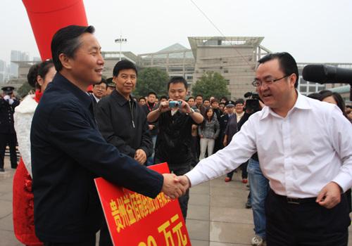 贵州政府企业众志成城抗旱救灾打响自救战役