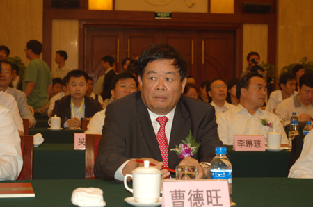 曹德旺:希望更多企业家投入公益事业
