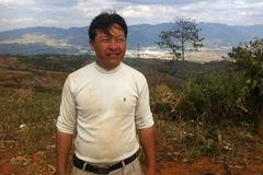 马头坡自然村全民自发投票推举出的领导人:刘忠祥