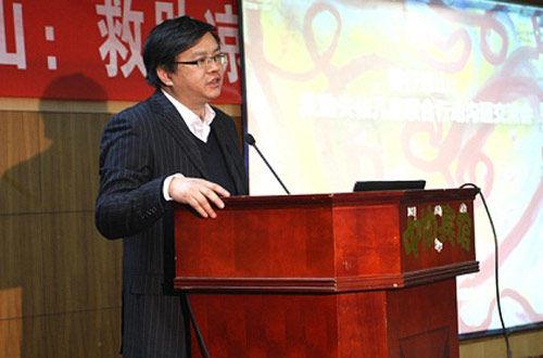 民族大学西部发展研究中心副主任侯远高先生