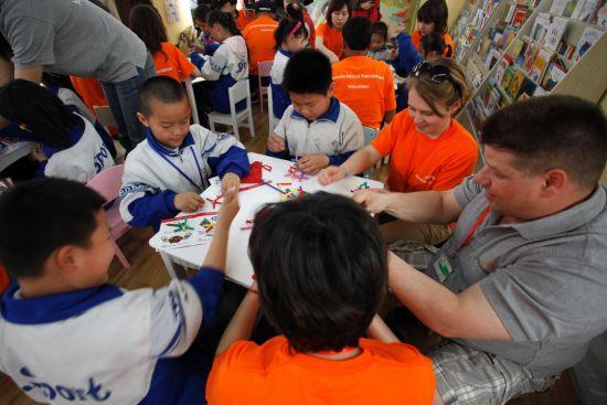 全球最大钢铁企业举办国际志愿活动