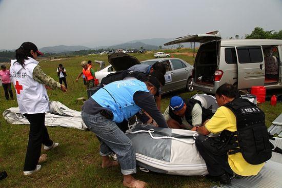 壹基金救援联盟备战水灾全国范围展开救援演