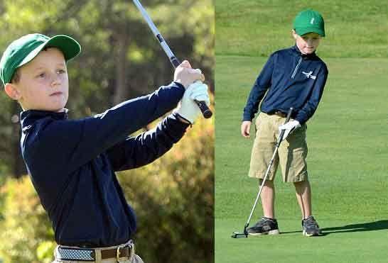 美国男童纪念癌症好友创高尔夫慈善项目
