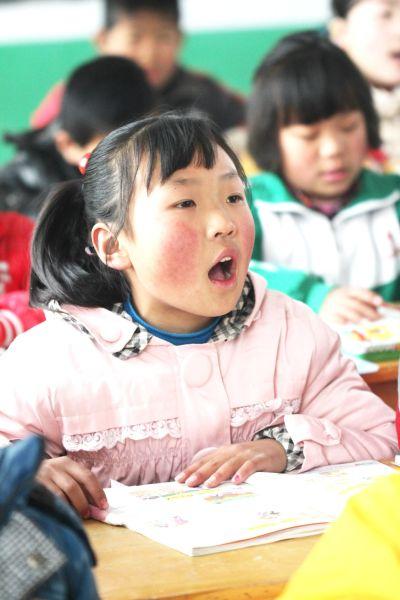 小宋娟在上课